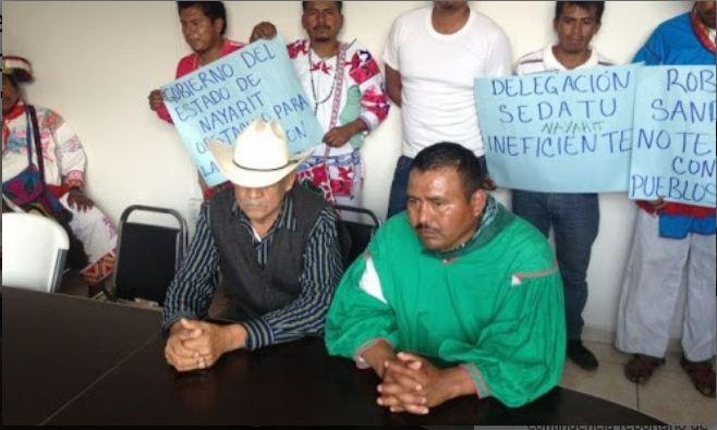 Matan a líder comunal huichol ya su hermano en Jalisco