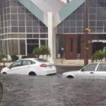 Intensas lluvias inundan Veracruz (VIDEO)