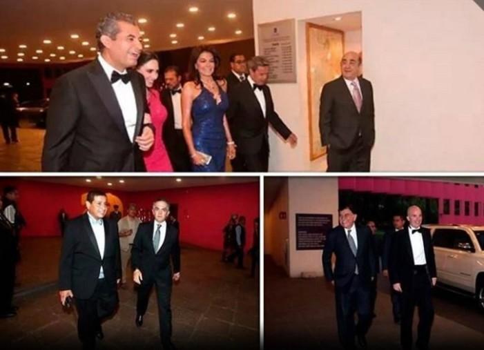 Mancera, Cevallos y Ochoa asisten a boda de hija de Romero Deschamps