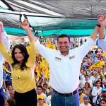 Mancera hace campaña con Moreno Valle, harían alianza el PRD, PT, MC ¿y PAN? en 2018