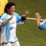 Maradona felicitó a Matías Almeyda por ganar campeonato con Chivas