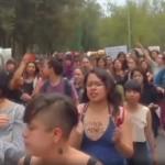 Marchan por justicia para Lesby, mujer estrangulada en CU