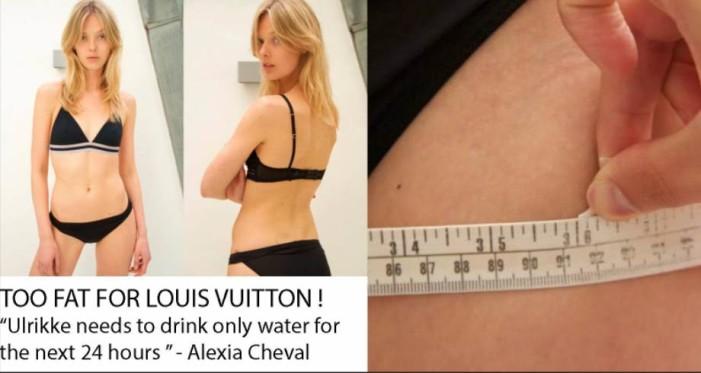 Louis Vuitton despide a modelo de talla 34 por 'gorda'