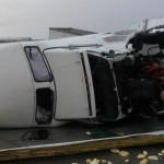 Tornado daña puente internacional en Nuevo Laredo