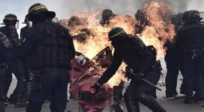 1° de mayo en Europa: disturbios en París; España y Grecia marchan contra corrupción