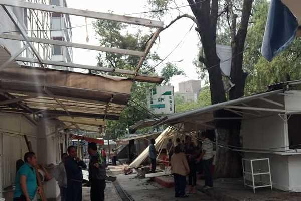 Desmantelan el 'Pasillo de la salmonela' en la UNAM