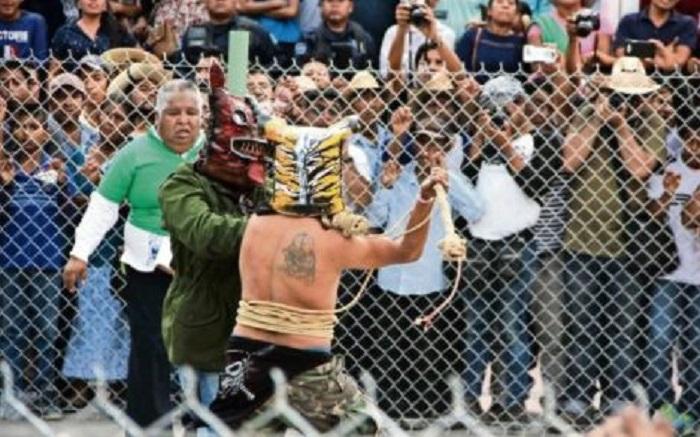 La Pelea de Tigres para pedir que llueva en Zitlala Guerrero (VIDEO)