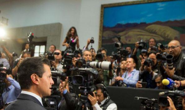 Teme EPN a periodistas, revisan a reporteros que cubren sus eventos