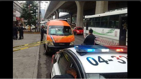 Asalto a transporte público en Naucalpan deja tres muertos