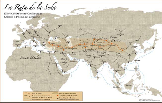 Reviven la ruta de la seda para hacer crecer a Asia