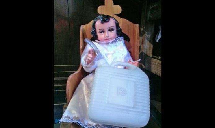 Santo Niño Huachicol se hizo popular tras los enfrentamientos