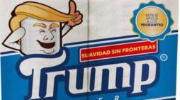 Mexicano crea 'Trump Paper', papel higiénico que sí ayuda a los migrantes