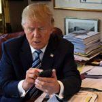 Donald Trump tiene una sola Aplicación en su teléfono