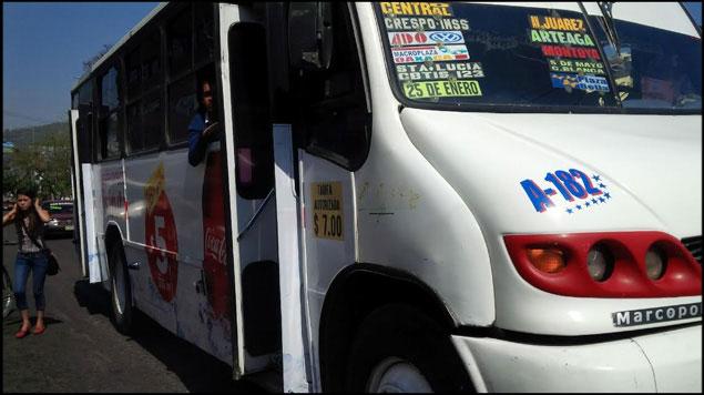 Por gasolinazos transporte público en Oaxaca aumentará a 10 pesos