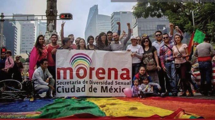 La diversidad sexual tiene hoy un espacio en Morena