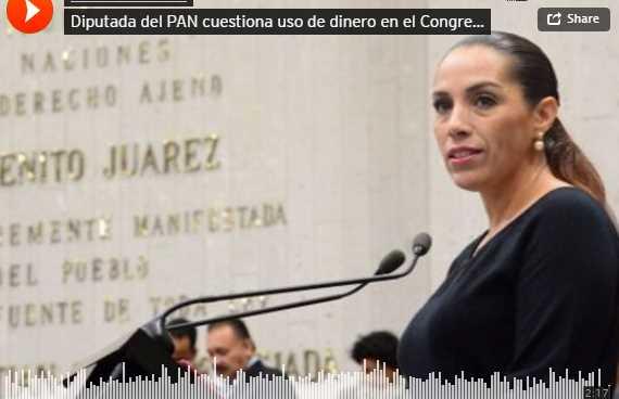 Diputada del PAN en Veracruz acusa a su coordinador de despilfarrar presupuesto en borracheras y mujeres