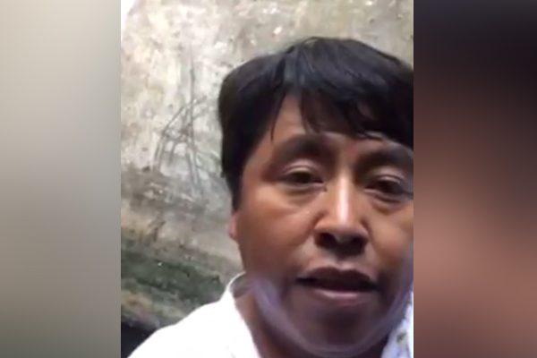 Diputado de Morena cae a un pozo por salvar a perro, lo trasmite en Facebook Live