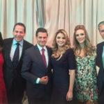 Peña, Eruviel y Del Mazo se reunieron en Los Pinos en día de la elección