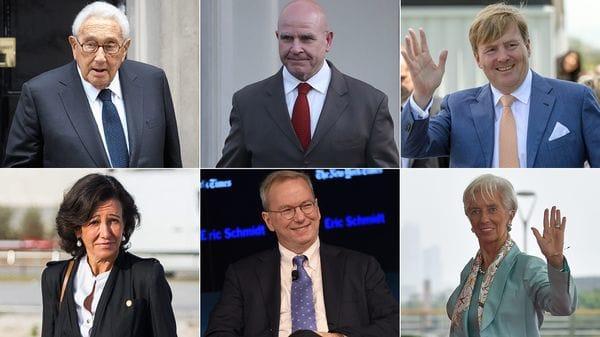 Quiénes participan en foro del Grupo Bilderberg que discute sobre Trump