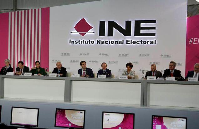 INE llama a candidatos a que no se declaren ganadores si no tienen elementos