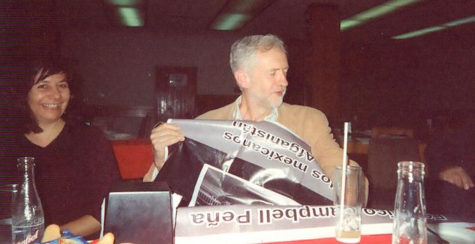 Jeremy Corbyn en México