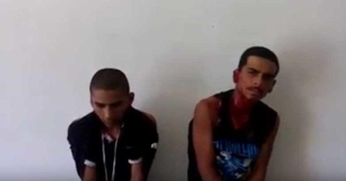 'Justicieros de Irapuato' cortan orejas a dos presuntos ladrones (video)