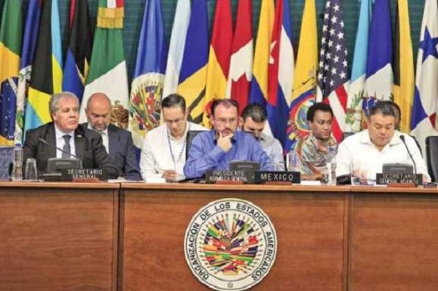 OEA rechazó propuesta de Venezuela sobre Ayotzinapa y el muro fronterizo