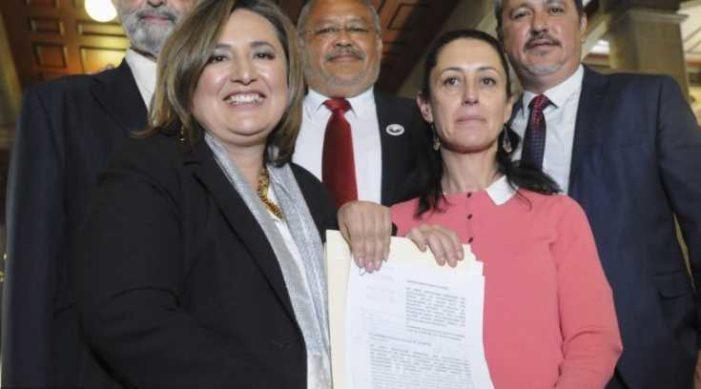 Xóchitl Gálvez destapa a Claudia Sheinbaum a la Jefatura de Gobierno