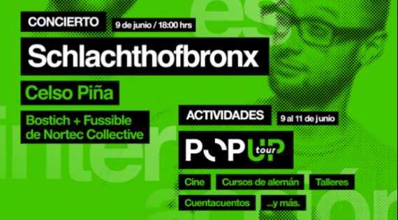 Nortec  Collective y Celso Piña, se presentarán gratis hoy en Monumento a la Revolución