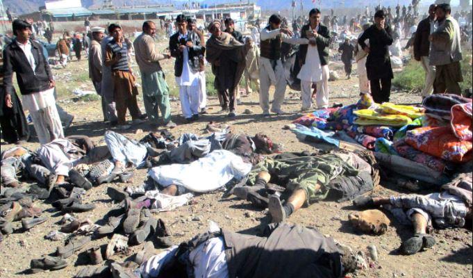 Aumenta a 85 muertos por atentado en Pakistán