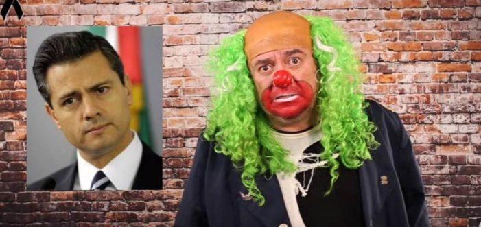 '¿Vas a denunciarme? yo soy un pinche payaso y tú eres un presidente': Brozo a Peña Nieto