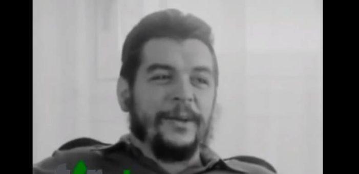 Aparece entrevista inédita de 'El Che' Guevara (VIDEO)