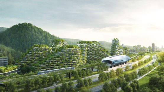 China edificará ciudad-bosque para reducir niveles de contaminación