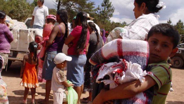 Familias mixes de Oaxaca fueron desplazadas por líder priista