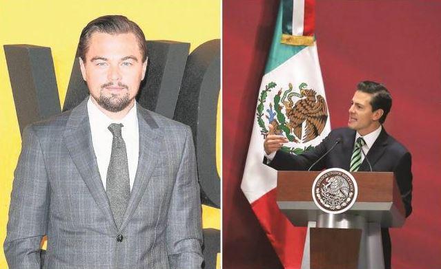 DiCaprio se reunió con Peña por la vaquita marina