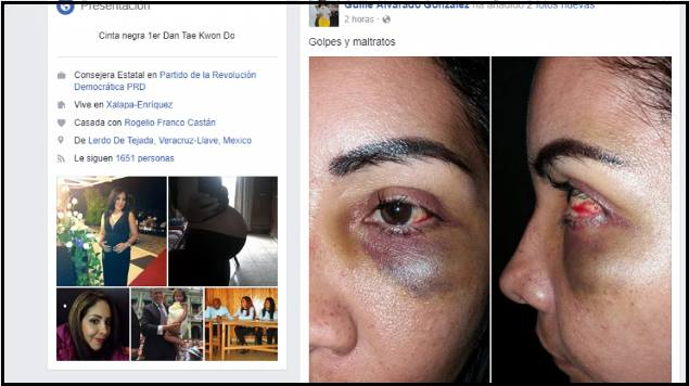 Esposa del Secretario de Gobierno de Veracruz denuncia 'golpes y maltratos'