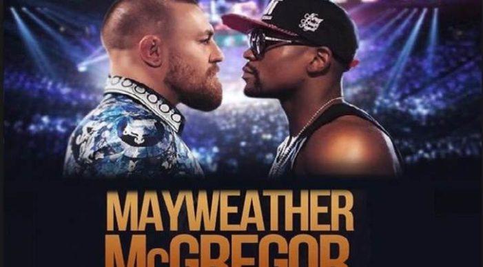 Pelea entre Floyd Mayweather Jr. y Conor McGregor será el próximo 26 de agosto