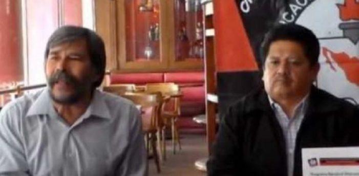 Detienen sin fundamento a maestro disidente Gerónimo Sánchez, en Querétaro