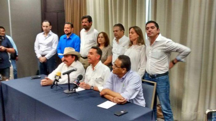 Armando Guadiana de Morena conforma frente con el PAN  por el 'fraude' en Coahuila