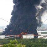 Explota y se incendia refinería de Salina Cruz, Oaxaca