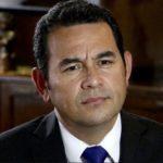 Renuncian ministros de Guatemala ante acciones prepotentes de Jimmy Morales