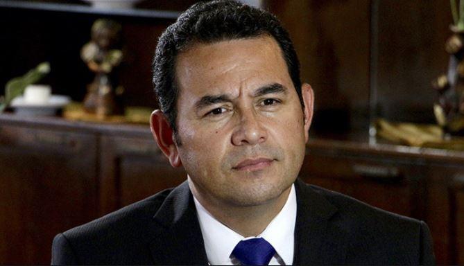 Corte de Guatemala da paso para quitar fuero Jimmy Morales