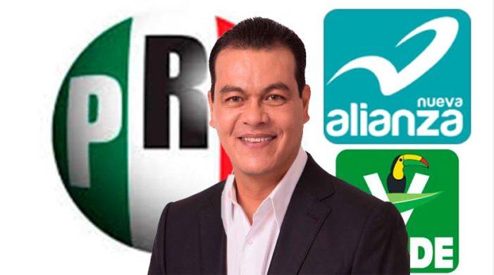 Juan Zepeda haría alianza con el PVEM y PANAL