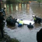 Tormenta genera inundaciones y caos en la CDMX