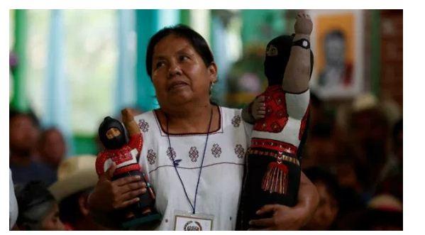 Candidata zapatista dice que ve un México enfermo, con cáncer