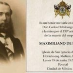 Convocan a misa en Polanco por los 150 años de la muerte de Maximiliano
