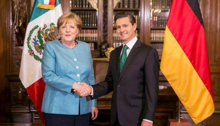 Angela Merkel se reúne con empresarios mexicanos