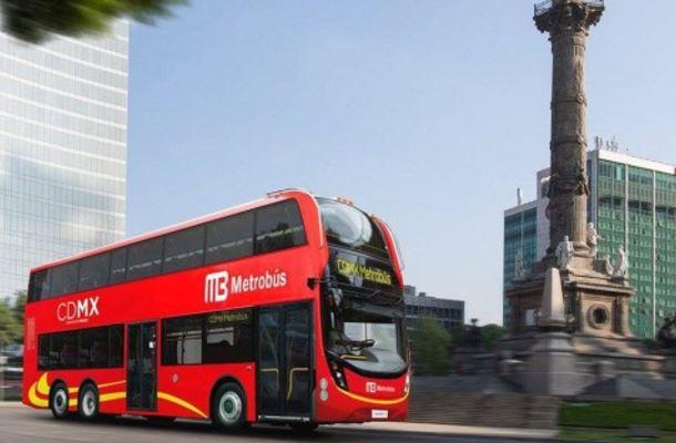 Ciudad de México estrena Metrobús de doble piso