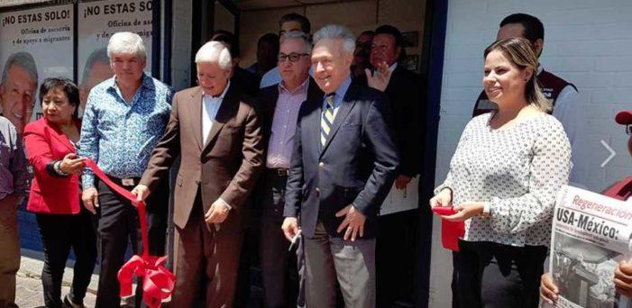 Morena abre oficinas en Texas para defender a mexicanos en EU