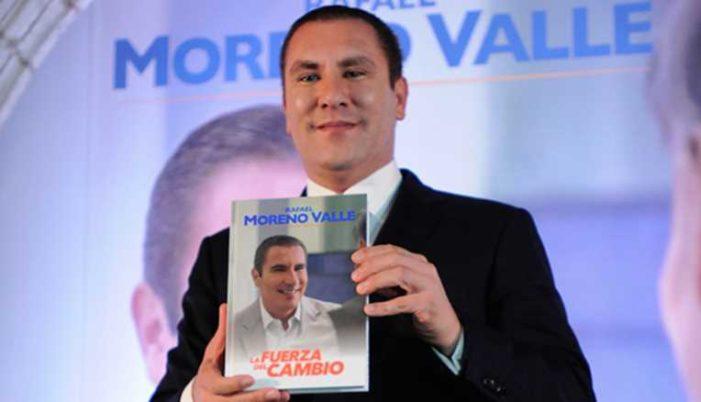 Moreno Valle asegura que Porrúa le pagó por escribir su libro